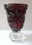 Rubínový pohár - Biedermeier