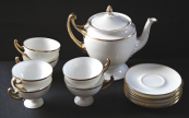 Tea service in empire shape - Alt Rohlau