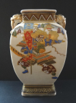 Chinese vase with samurai