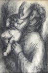 Milena Komrsová - Matka s dítětem