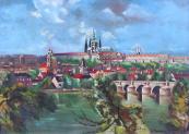 A. Moravec - Hradčany a Karlův Most