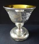 Pohárek z amalgámového skla