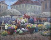 Jaroslav Šimůnek - Květinový trh v Praze