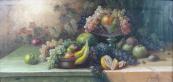 František Zavázal - Zátiší s ovocem
