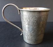 Small silver cask - Russia