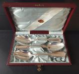 Stříbrné lžíce v krabičce