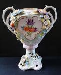 Vázička s reliéfními květy a plody - Plavno ( Plaue )