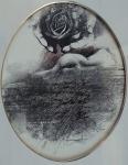 Jan Kristofori - Nude girl with roses