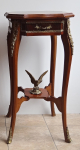 French Rococo style table with eagle