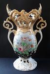 Váza s květy - Druhé rokoko, Carl Knoll