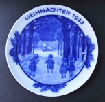 Vánoční talíř z roku 1923 - Rosenthal