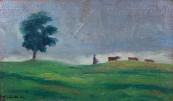 Emil Wänke - Útěk z pastvy před bouří