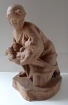 Břetislav Benda - Matka s dítětem v náručí