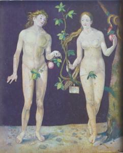 Albrecht Dürer - Adam a Eva , kopie