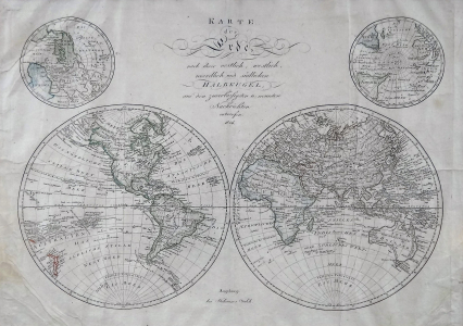 Johann Walch - Mapa zeměkoule s hemisférami (2).JPG