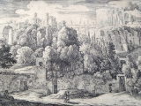 Herman van Swanevelt - Ruiny antického amfiteátru (3).JPG
