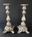 Párové stříbrné svícny - jednoplamenné (1).JPG