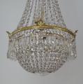 Křišťálový lustr se zlaceným bronzovým kruhem (2).JPG