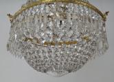 Křišťálový lustr se zlaceným bronzovým kruhem (5).JPG