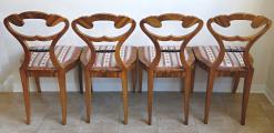 Čtyři židle s vějíři - Biedermeier (2).JPG