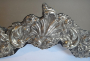 Stříbrné stolní zrcadlo - Pozdní Biedermeier, Vídeň 1853 (4).JPG