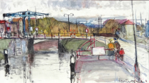 Václav F. Ulšmíd - Most v přístavu (2).JPG