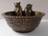 Dvě kočičky v proutěném košíku - Bronz (3).JPG