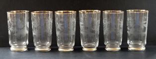 Džbán a šest skleniček s ptáčky a jelenem (3).JPG