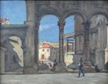 Václav Příhoda - U antické ruiny (2).JPG