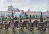 Josef Homolka - Karlův most a Hradčany (4).JPG