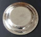 Kulatý stříbrný empírový talíř - Francie 1809 - 1819 (4).JPG