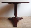 Kulatý sklápěcí mahagonový stůl - Biedermeier (2).JPG