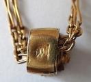 Zlatý dlouhý řetízek s kytičkou (5).JPG