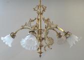 Mosazný historizující lustr se zvonky (2).JPG