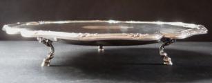 Kulatá stříbrná mísa na nožkách - Maison Cardeilhac (2).JPG
