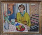 Rudolf Vejrych - Žena u stolu (1).JPG