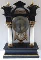 Sloupkové hodiny, s vedutou - Biedermeier (1).JPG