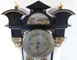Sloupkové hodiny, s vedutou - Biedermeier (2).JPG