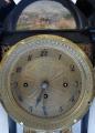 Sloupkové hodiny, s vedutou - Biedermeier (4).JPG