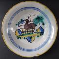 Fajánsový talíř s jelenem (1).JPG