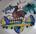Fajánsový talíř s jelenem (3).JPG