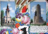 Velký talíř s pamětihodnosti Chodska - Kamenický, Klenčí (3).JPG
