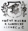 Velký talíř s pamětihodnosti Chodska - Kamenický, Klenčí (6).JPG