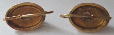 Zlatý přívěšek a zlaté náušnice - biedermeier, Vídeň (4).JPG
