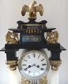 Sloupkové hodiny se lvi a orlem - biedermeier (2).JPG
