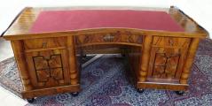 Velký reprezentativní stůl a knihovna - Art deko (1).JPG