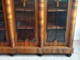 Velký reprezentativní stůl a knihovna - Art deko (7).JPG