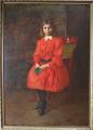 Géza Peske - Dívka v červených šatech (1).JPG