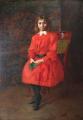 Géza Peske - Dívka v červených šatech (2).JPG