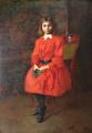 Géza Peske - Dívka v červených šatech (3).JPG